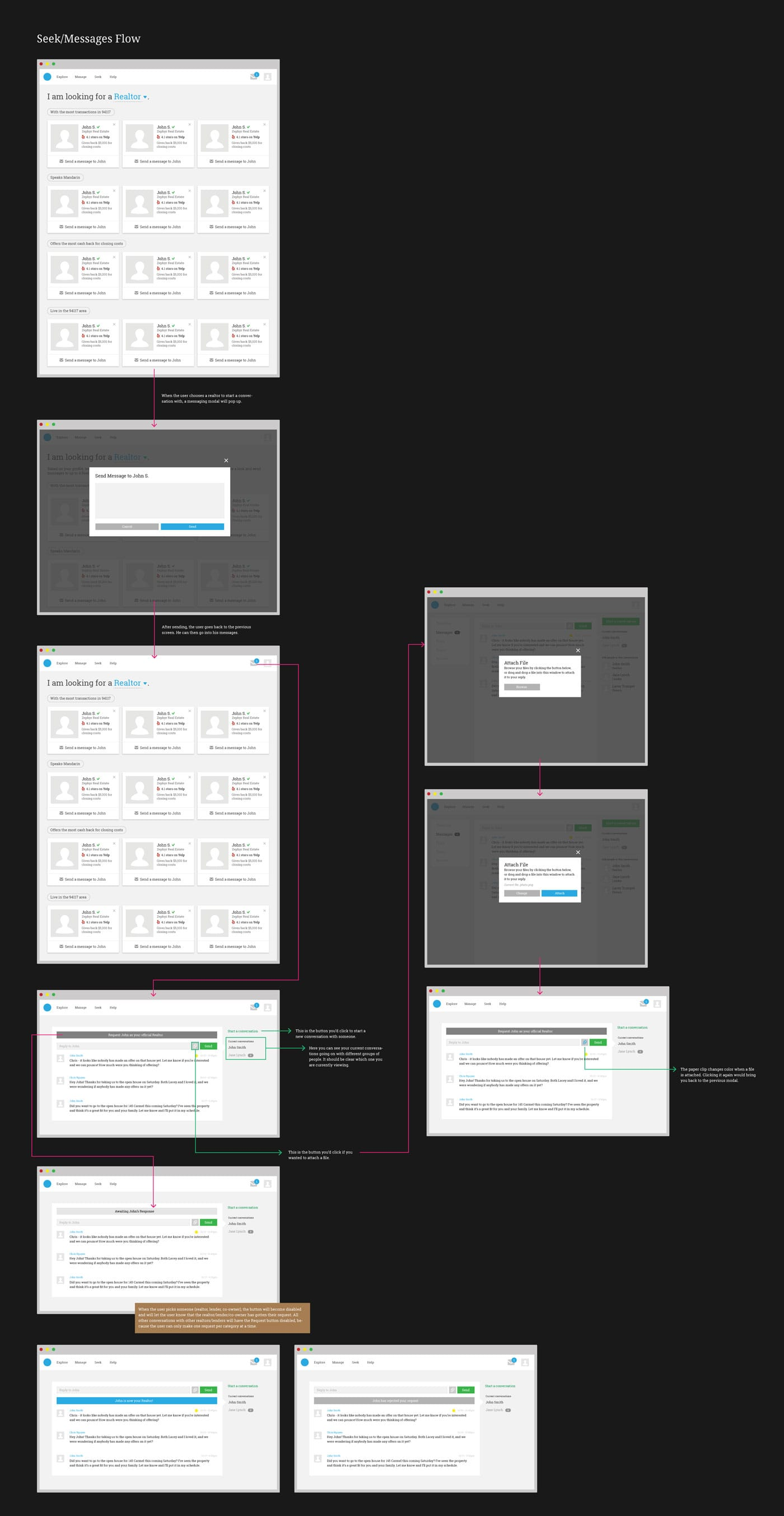 seek wireframes